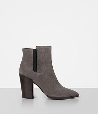 Womens Senta Suede Boot (Mink) - product_image_alt_text_1