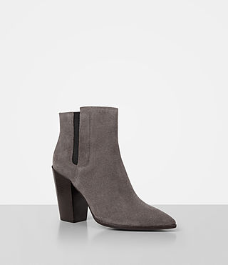 Womens Senta Suede Boot (Mink) - product_image_alt_text_3