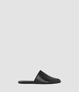 Damen Rick Slip On Sandal (Black)