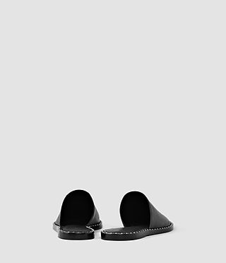 Women's Rick Slip On Sandal (Black) - product_image_alt_text_3
