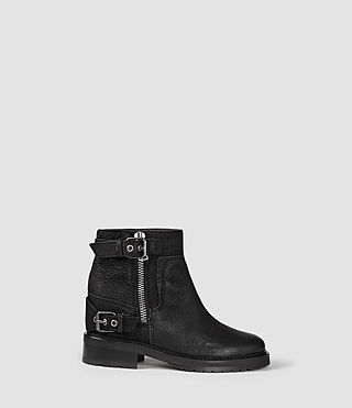 Womens Rama Low Boot (Black)