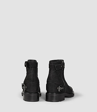 Womens Rama Low Boot (Black) - product_image_alt_text_3