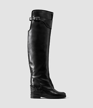 Womens Sigrid Thigh Boot (Black)