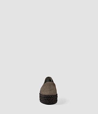 Women's Bora Slip On Shoe (Dark Khaki Green) - product_image_alt_text_2