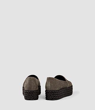 Women's Bora Slip On Shoe (Dark Khaki Green) - product_image_alt_text_3