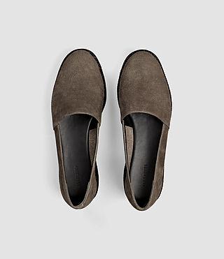 Women's Bora Slip On Shoe (Dark Khaki Green) - product_image_alt_text_4