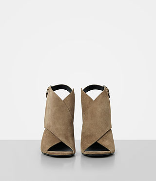 Mujer Ulla Suede Sandal (Mustard) - product_image_alt_text_4