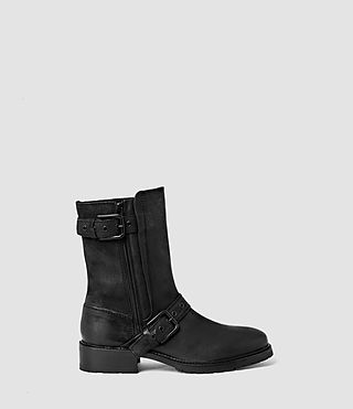 Womens New Kawai Engineer Boot (Black)