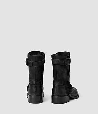 Womens New Kawai Engineer Boot (Black) - product_image_alt_text_3
