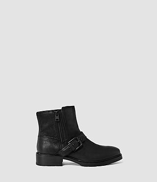Womens New Kawai Low Boot (Black) - product_image_alt_text_1