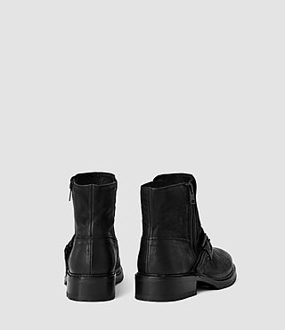 Womens New Kawai Low Boot (Black) - product_image_alt_text_3