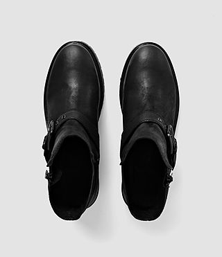 Womens New Kawai Low Boot (Black) - product_image_alt_text_4