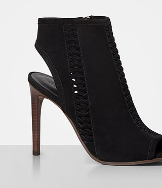 Womens Vibrant Ankle Boot (Black) - product_image_alt_text_2