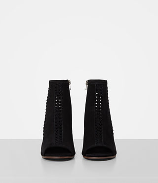 Mujer Vibrant Ankle Boot (Black) - product_image_alt_text_4
