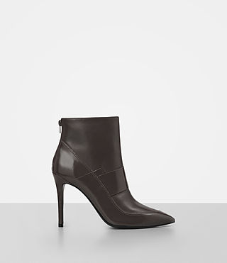 Women's Xavier Heel Boot (MINK GREY)