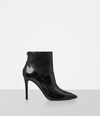 Damen Xavier Heel Boot (Black)