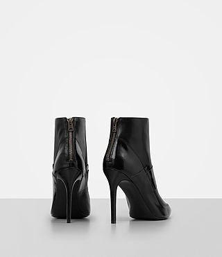 Damen Xavier Heel Boot (Black) - product_image_alt_text_5