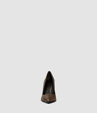 Damen Traif Heel (Dark Khaki Green) - product_image_alt_text_2