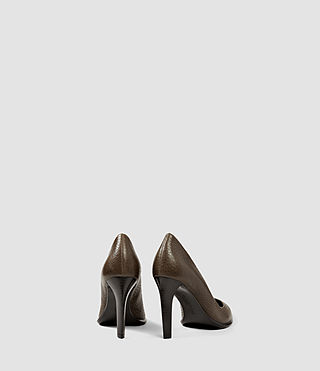 Damen Traif Heel (Dark Khaki Green) - product_image_alt_text_3