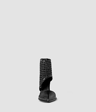 Womens Theo Woven Heel (Black) - product_image_alt_text_2