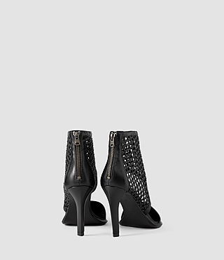 Womens Theo Woven Heel (Black) - product_image_alt_text_3