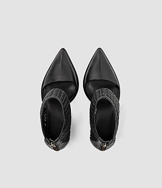 Donne Theo Woven Heel (Black) - product_image_alt_text_4
