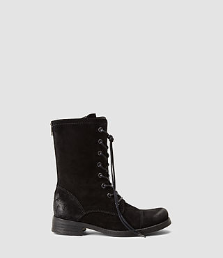 Womens Military Trial Boot (Black)