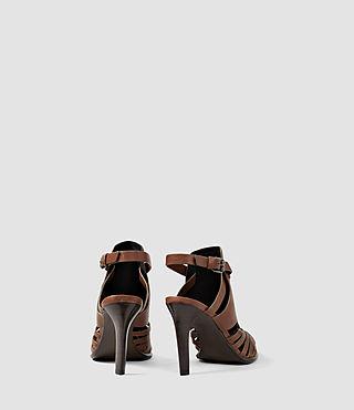 Womens Tao Heel (BRICK BROWN) - product_image_alt_text_3