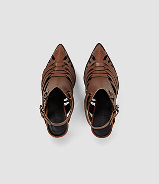 Womens Tao Heel (BRICK BROWN) - product_image_alt_text_4