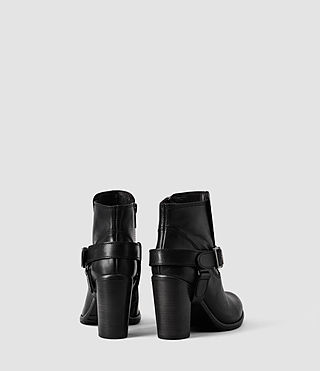 Womens Jules Heeled Boot (Black) - product_image_alt_text_3