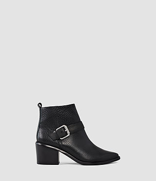 Donne Jason Heel Boot (Black)