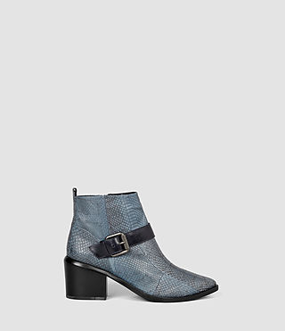 Donne Jason Heel Boot (Blue)