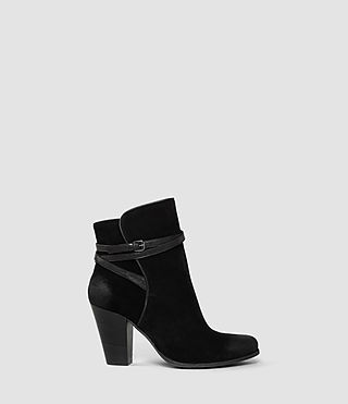 Damen Victoria Heel Boot (Black)