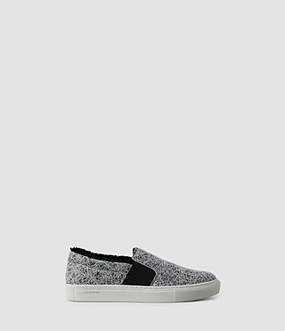 Womens S-99 Slip On (Black/White)