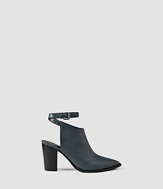 Mujer Zapatos Ivy (Petrol Blue)