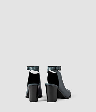 Womens Ivy Heels (Petrol Blue) - product_image_alt_text_3