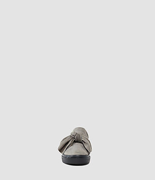 Mujer Zale Leather Low Top (Grey) - product_image_alt_text_2