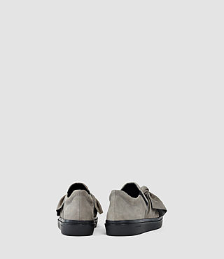 Mujer Zale Leather Low Top (Grey) - product_image_alt_text_3