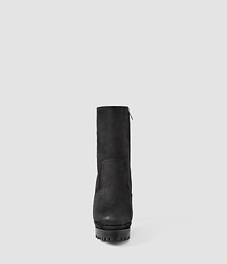 Mujer Gosset Shearling Boot (Black) - product_image_alt_text_2