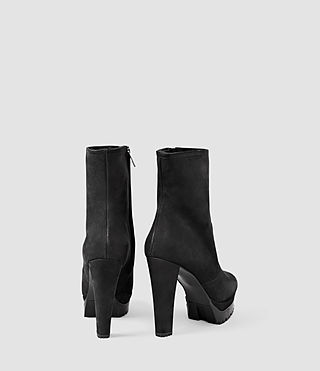 Mujer Gosset Shearling Boot (Black) - product_image_alt_text_3