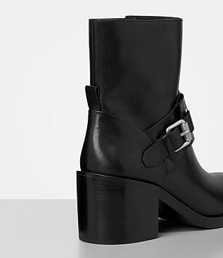 Damen Minkka Boot (Black) - product_image_alt_text_2