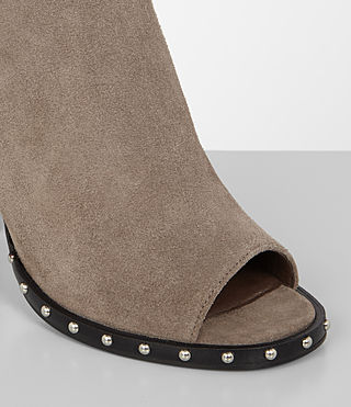 Women's Kaya Boot (ALMOND BROWN) - Image 2