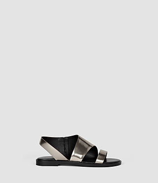 Womens Webber Sandal (Pewter) - product_image_alt_text_1