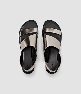 Womens Webber Sandal (Pewter) - product_image_alt_text_4