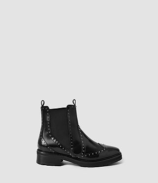 Femmes Bonner Studded Chelsea Boot (Black)