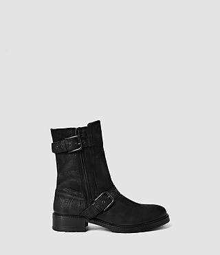 Damen New Kawaii Engineer Boot (Black)