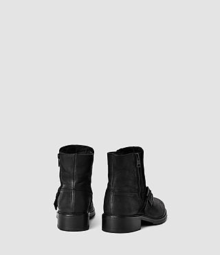 Donne New Kawaii Low Boot (Black) - product_image_alt_text_3