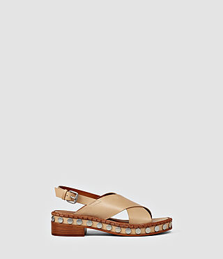 Donne Ruse Sandal (LIGHT CARAMEL)
