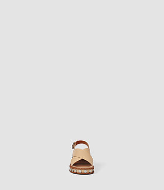 Womens Ruse Sandal (LIGHT CARAMEL) - product_image_alt_text_2