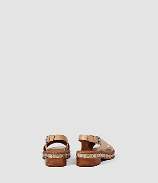 Womens Ruse Sandal (LIGHT CARAMEL) - product_image_alt_text_3